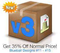 Blueball Sandvox Designs Volume 3!