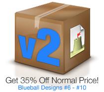 Blueball Sandvox Designs Volume 2!