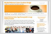 Blueball Minimal Colors Design!