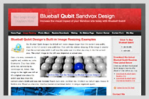 Blueball Qubit Design!