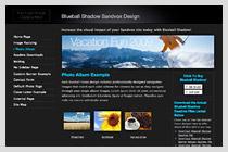 Blueball Shadow Design!