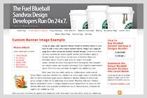 Blueball Smooth Design for Sandvox 2!
