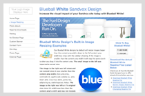Blueball White Design!