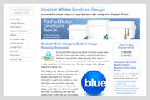 Blueball White Design!