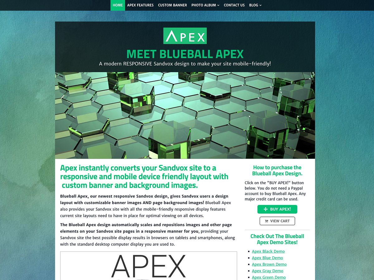 Blueball Apex design released!