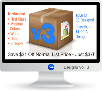 Blueball Sandvox Designs Vol. 3 - Save $21.00 off list price!