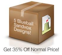 Blueball Sandvox Designs Volume 1!