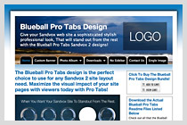 Blueball Pro Tabs Design!